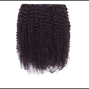 Accessories - Kinky Curly Clip Ins Human Hair Extensions